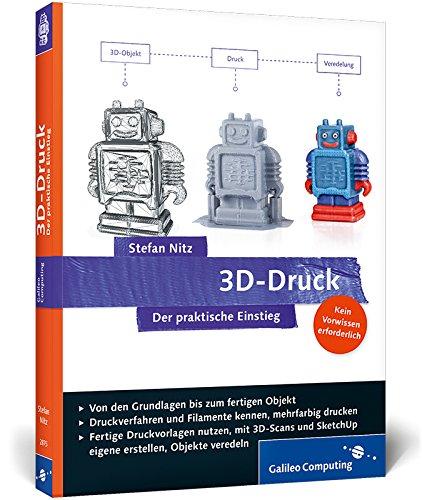 Cover von dem Buch 3D Druck - Der praktische Einstieg