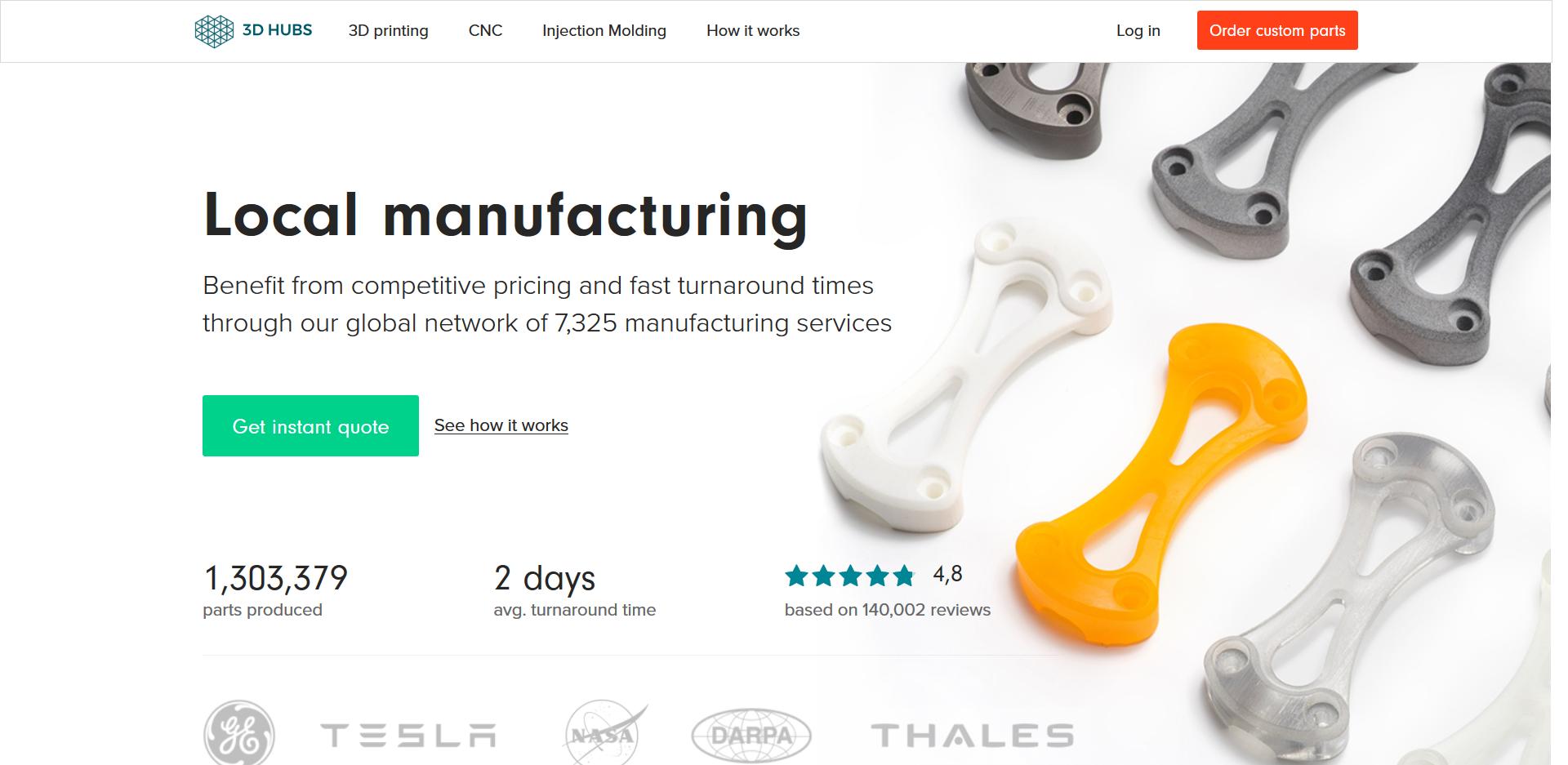 Die besten Dienstleister im 3D Druck Service Vergleich