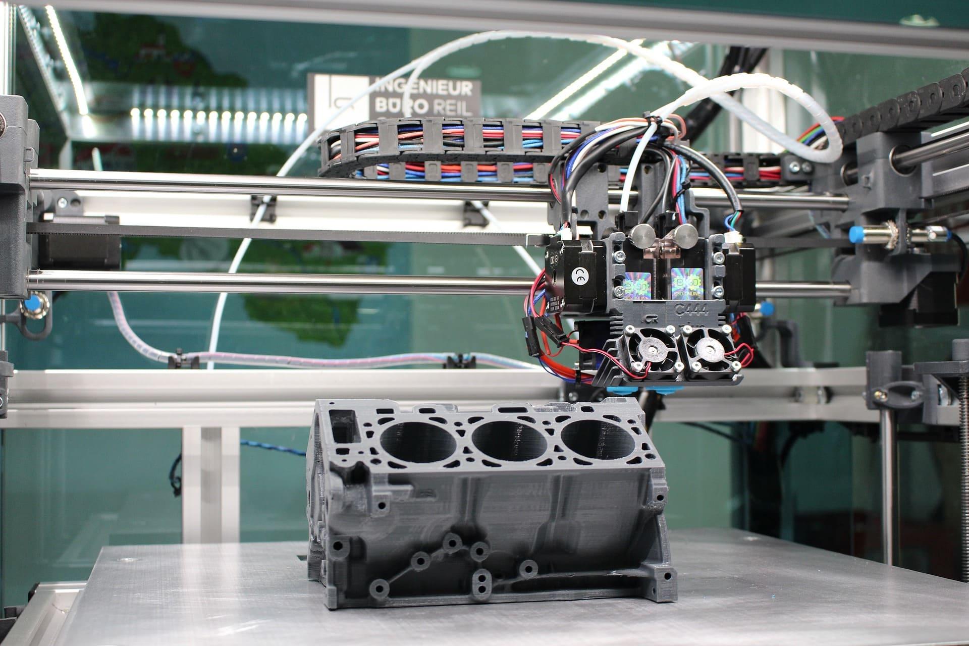 Gesamte 3D Drucker Geschichte bis 2020
