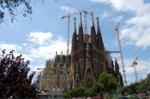 Sagrada Familia Architektur auf 3D-Drucker-kaufen.info