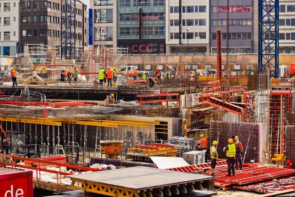 Die Bauindustrie verwendet 4D Druck