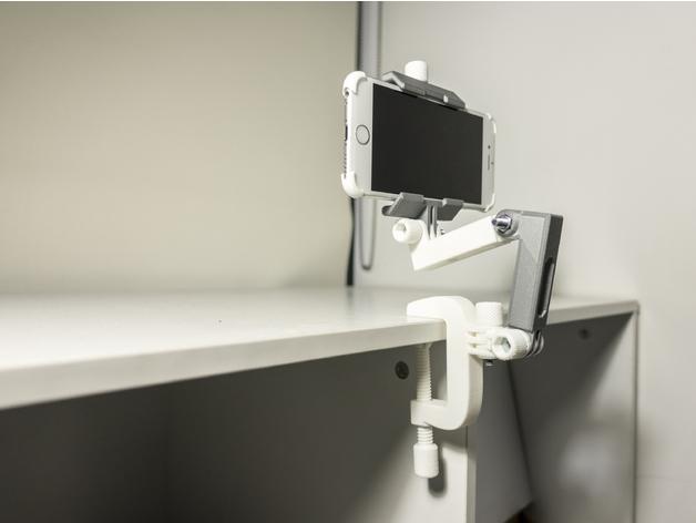 Vom 3D Druck gedruckter praktischer Objekthalter