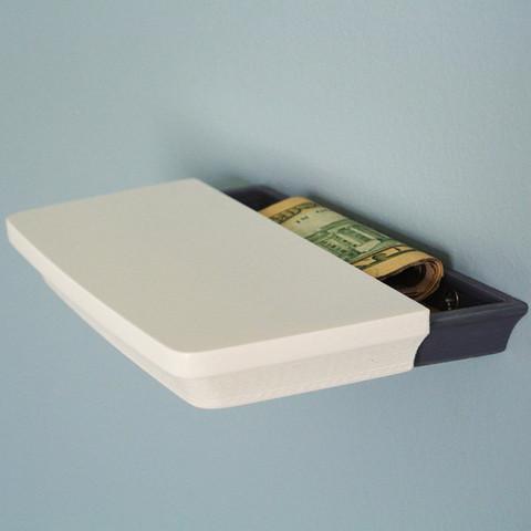 Die 3D Drucker Idee Geheimfach bietet deinem Geld einen sicheren Ort