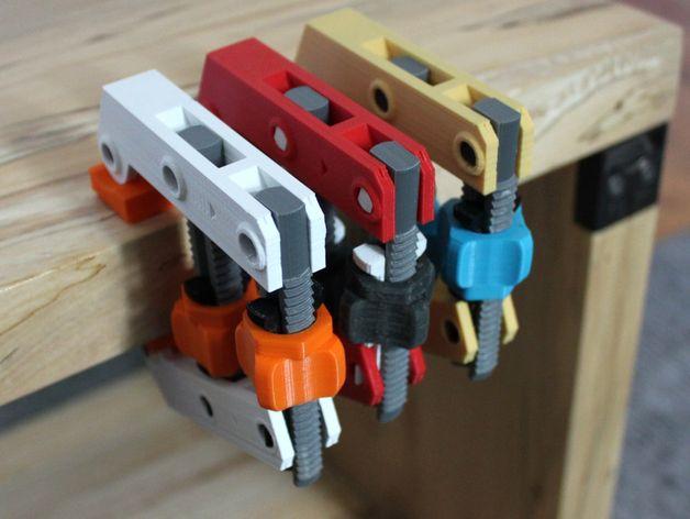 Die 3D Drucker Idee Klemmschraube als praktisches Werkzeug