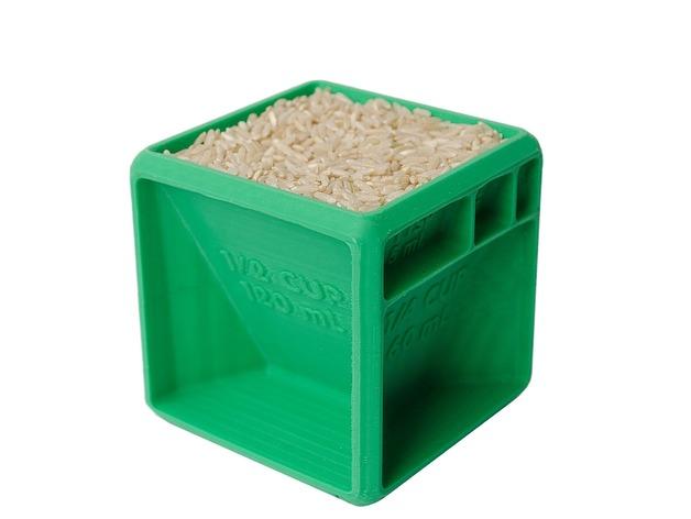 Erfahre mehr über den Messwürfel auf 3D Drucker kaufen.info