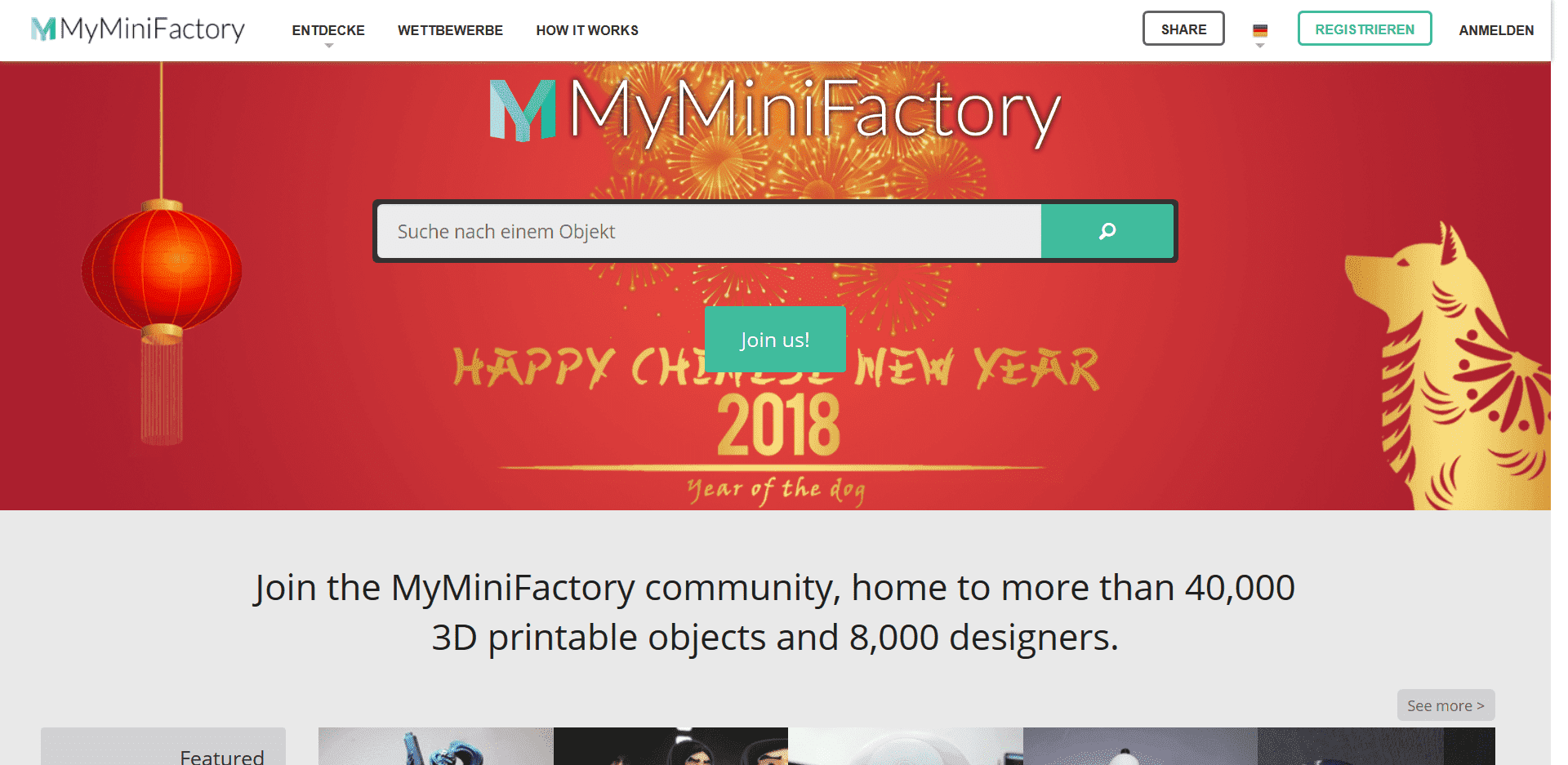 Seite Myminifactory