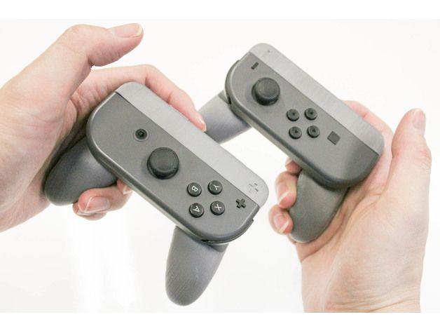 Die 3D Drucker Idee Nintendo Switch Joy Grip bietet viel Spaß