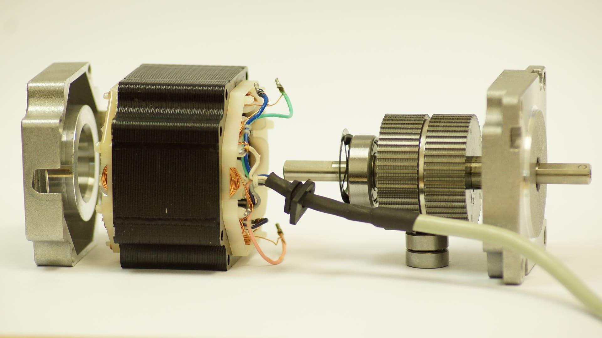 Schrittmotoren im 3D Drucker