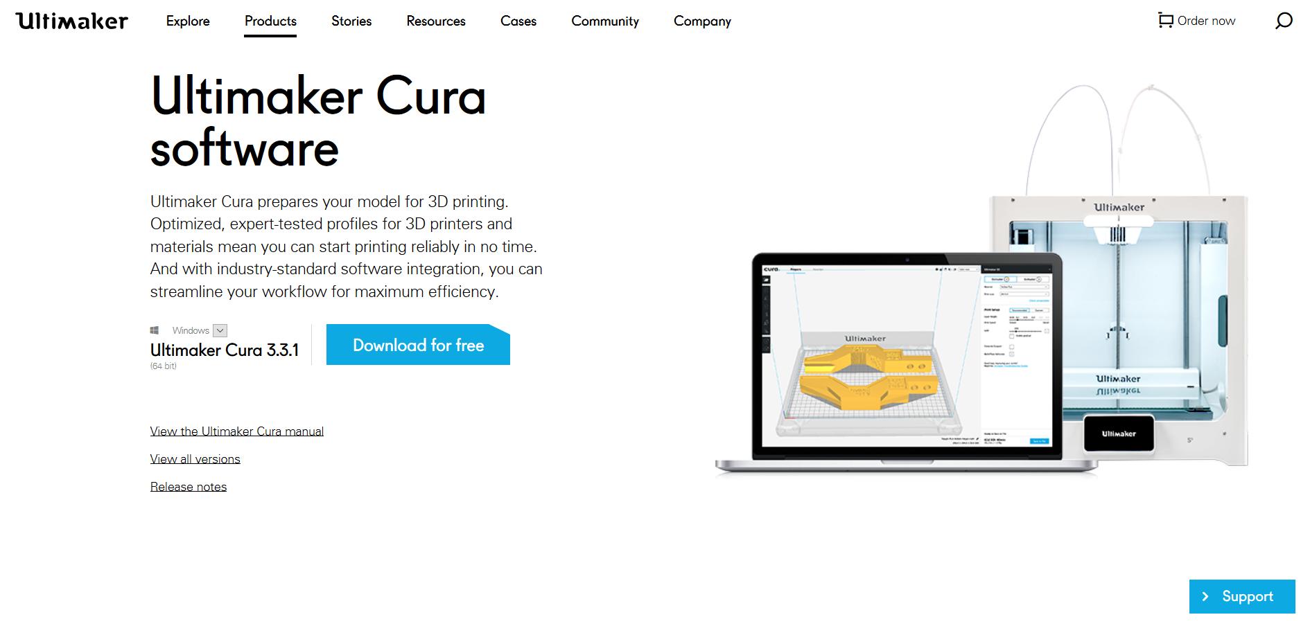 Die 3d Drucker Software Cura vorgestellt