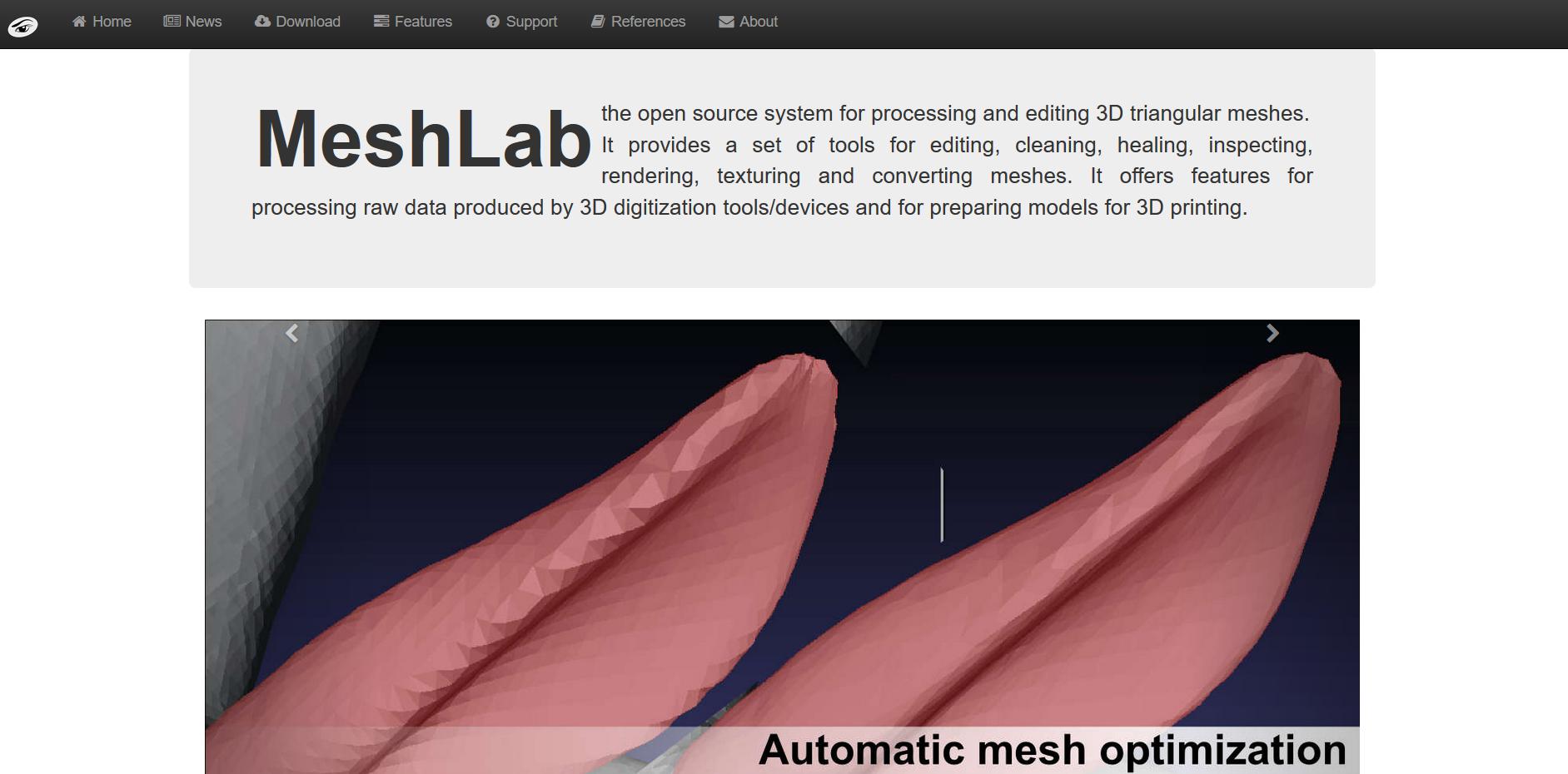 Die 3D Drucker Software Meshlab vorgestellt